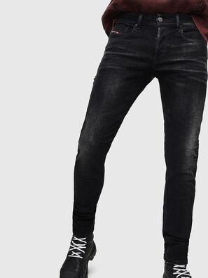 Sleenker 0092B, Negro/Gris oscuro - Vaqueros