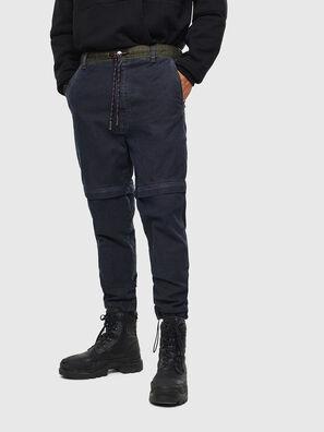 D-Everi JoggJeans 009BI, Azul Oscuro - Vaqueros