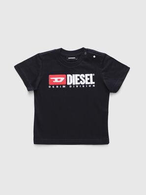TJUSTDIVISIONB, Negro - Camisetas y Tops