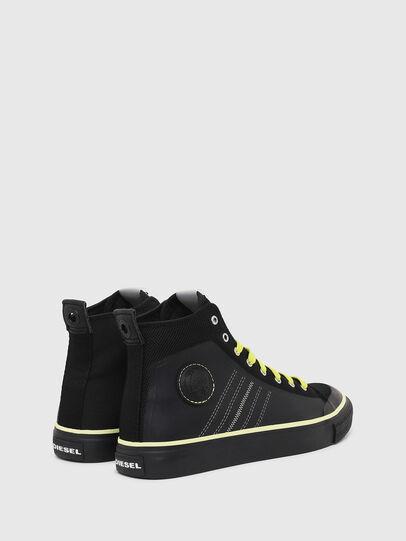 Diesel - S-ASTICO MC H, Negro/Amarillo - Sneakers - Image 3