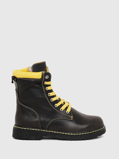 Diesel - HB LACE UP 04 CH, Negro - Calzado - Image 1