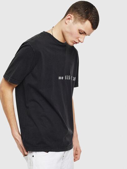 Diesel - T-JUST-T12, Negro - Camisetas - Image 4