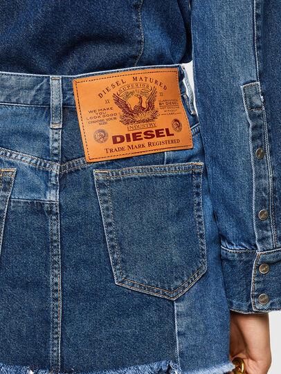 Diesel - DE-DESY-Z1, Azul medio - Vestidos - Image 3