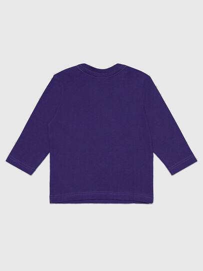 Diesel - TJUSTLOGOB-FL ML, Violeta - Camisetas y Tops - Image 2