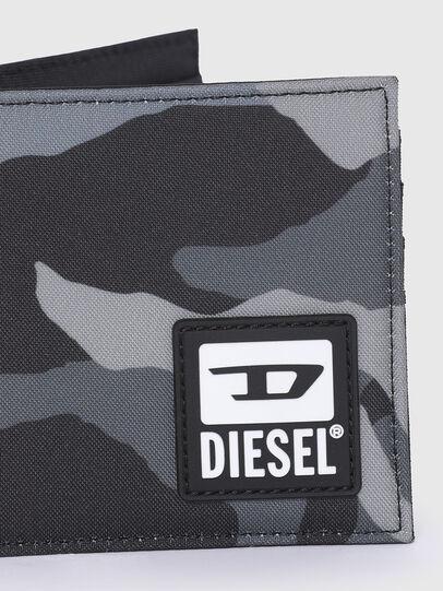 Diesel - HIRESH S, Gris/Negro - Monederos Pequeños - Image 4