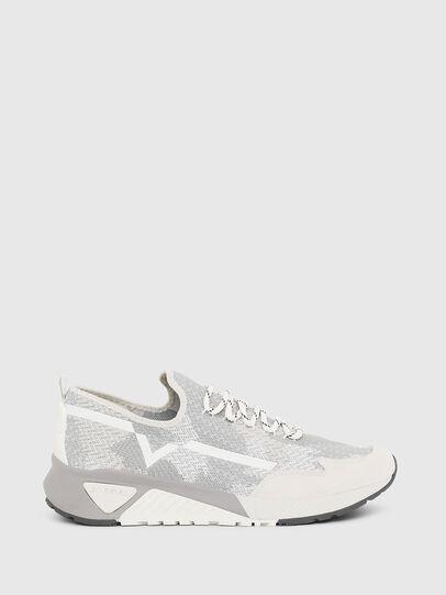 Diesel - S-KBY, Gris/Blanco - Sneakers - Image 1