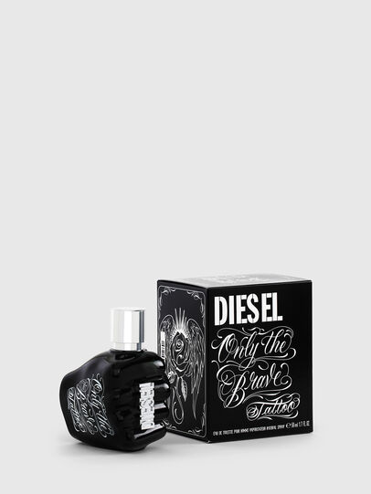 Diesel - ONLY THE BRAVE TATTOO 50 ML, Negro - Only The Brave - Image 1