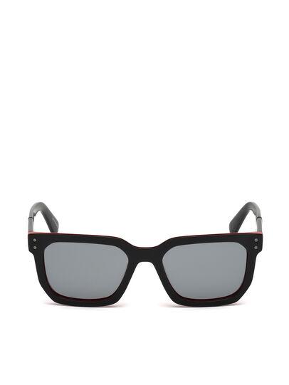Diesel - DL0253, Negro/ Rojo - Gafas de sol - Image 1