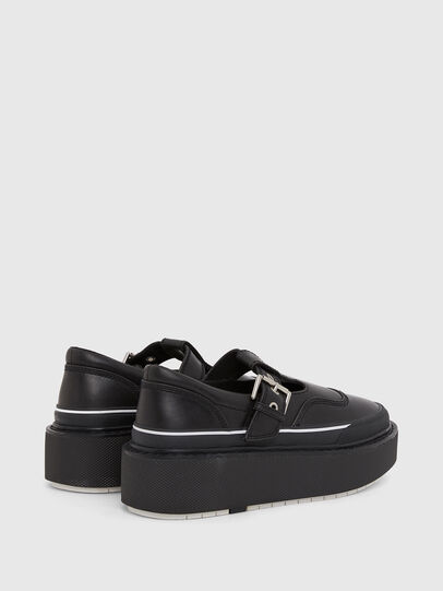 Diesel - H-SCIROCCO BA, Negro - Sneakers - Image 3