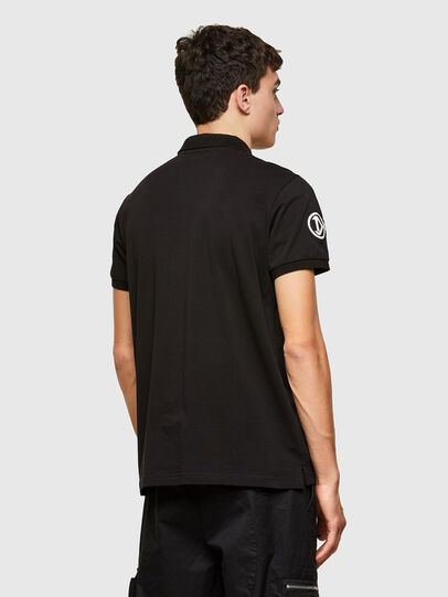 Diesel - T-WEET-E2, Negro - Polos - Image 2