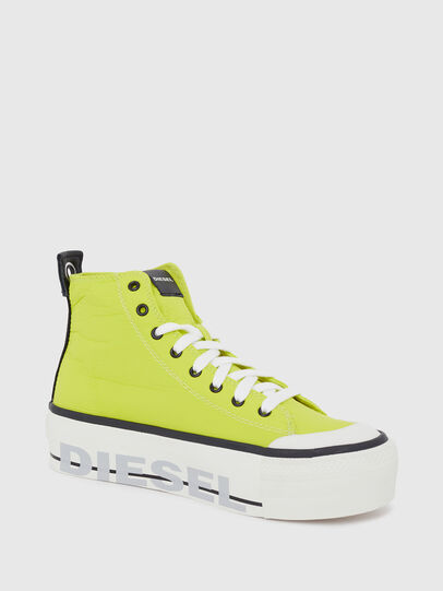 Diesel - S-ASTICO MC WEDGE, Amarillo - Sneakers - Image 5