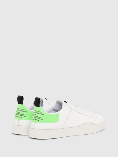 Diesel - S-CLEVER LOW LACE, Blanco/Verde - Sneakers - Image 3