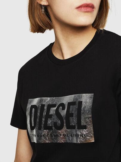 Diesel - T-FOIL, Negro - Camisetas - Image 5
