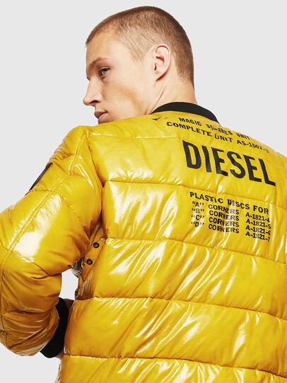 Diesel - W-ON, Amarillo - Chaquetones de invierno - Image 5