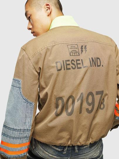 Diesel - J-STORCH, Beige - Chaquetas - Image 5