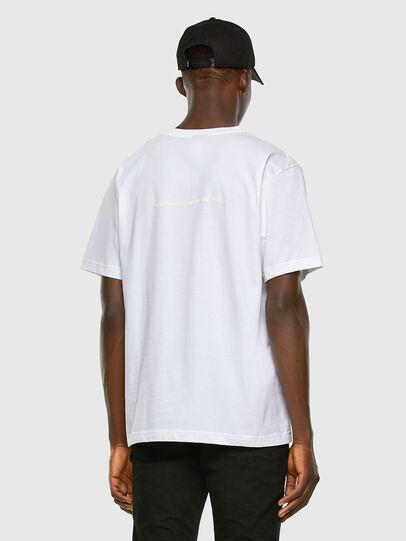 Diesel - T-TUBOLAR-X20, Blanco - Camisetas - Image 6