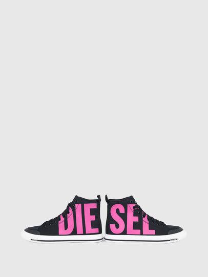 Diesel - S-ASTICO MID CUT W, Negro/Rosa - Sneakers - Image 4