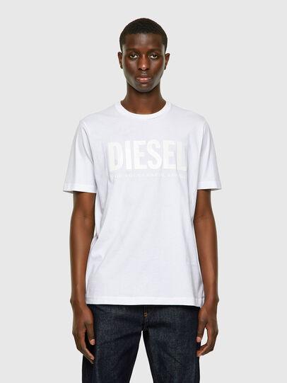 Diesel - T-JUST-INLOGO, Blanco - Camisetas - Image 1