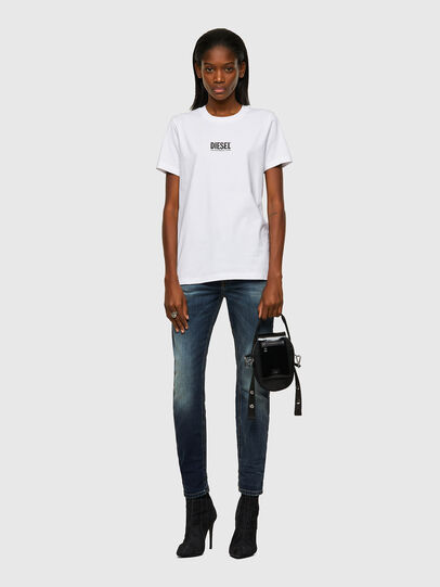 Diesel - T-SILY-ECOSMALLOGO, Blanco - Camisetas - Image 4