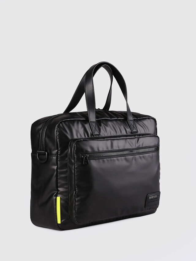 Diesel F-DISCOVER BRIEFCASE, Negro - Maletines - Image 2