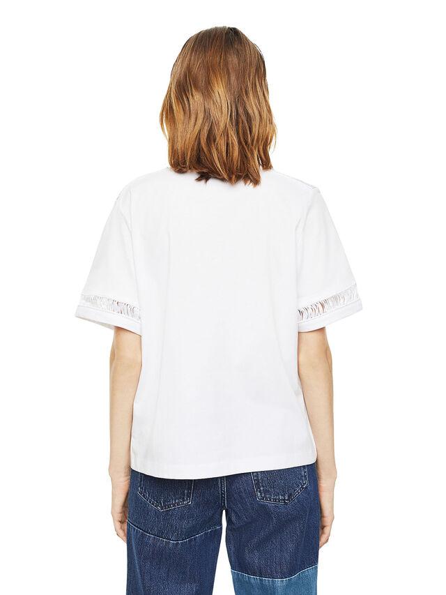 Diesel - TREENA, Blanco - Camisetas - Image 2