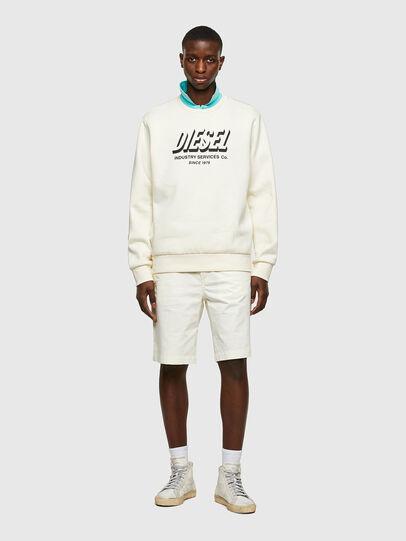 Diesel - P-HATY, Blanco - Shorts - Image 4