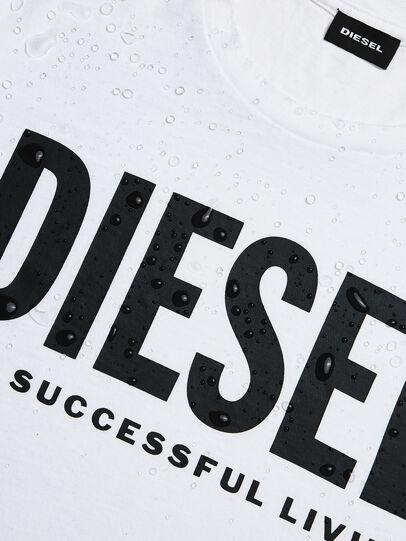 Diesel - T-DIEGO-LOGO, Blanco - Camisetas - Image 5