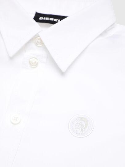 Diesel - CSBILLB, Blanco - Camisas - Image 3