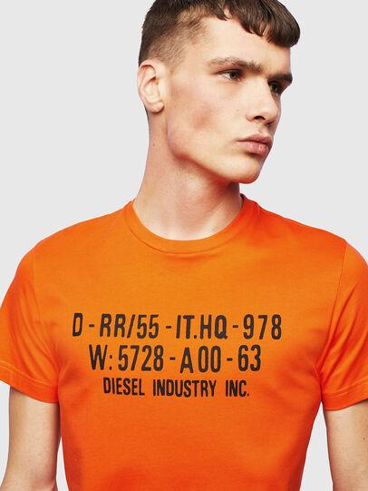 Diesel - T-DIEGO-S2, Naranja - Camisetas - Image 3