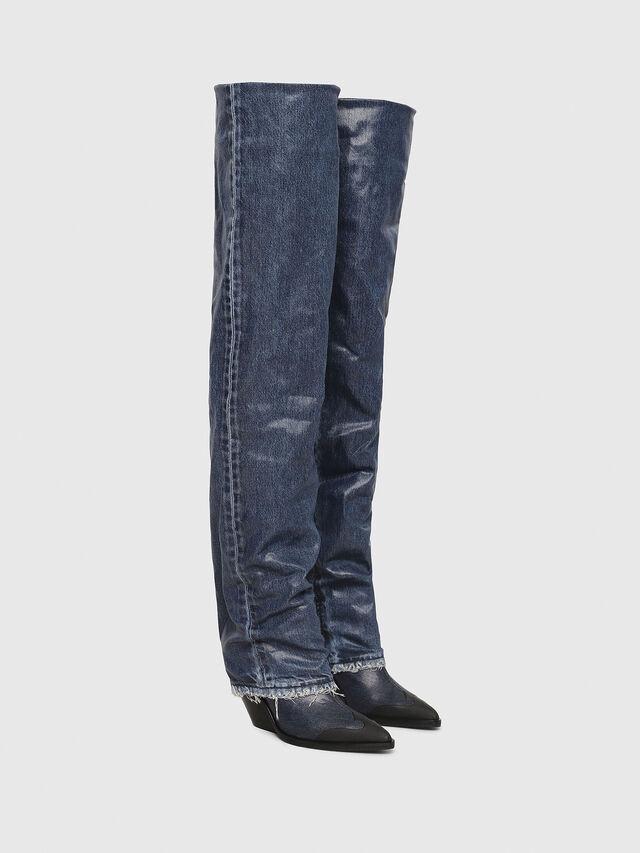 Diesel - D-WEST OTK, Blue Jeans - Botas - Image 2