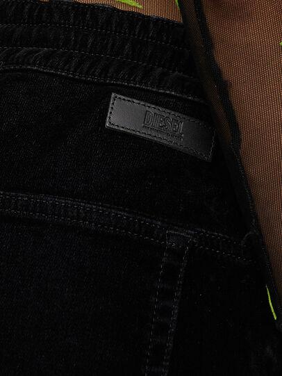 Diesel - Krailey JoggJeans® 069TB, Negro/Gris oscuro - Vaqueros - Image 4