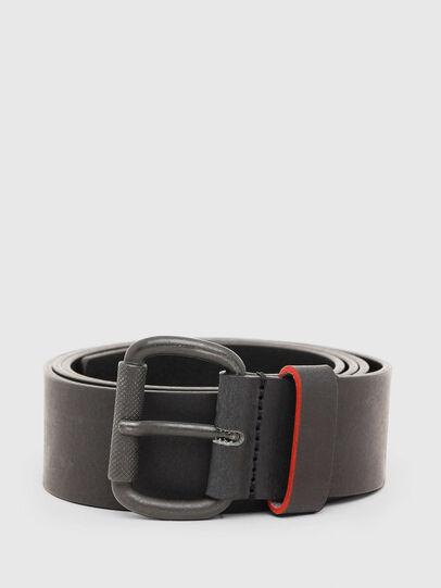 Diesel - B-DIVISION, Negro - Cinturones - Image 1