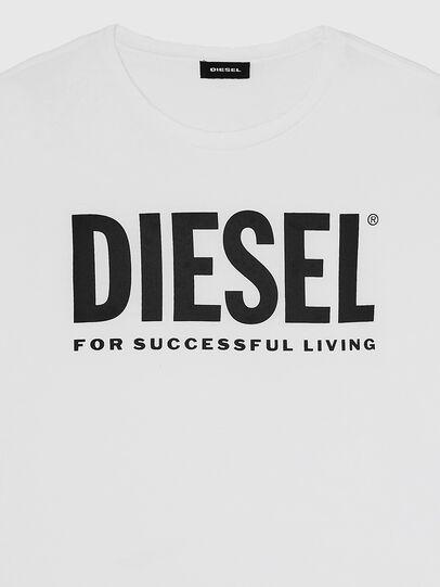 Diesel - T-DIEGO-LOGO, Blanco - Camisetas - Image 3