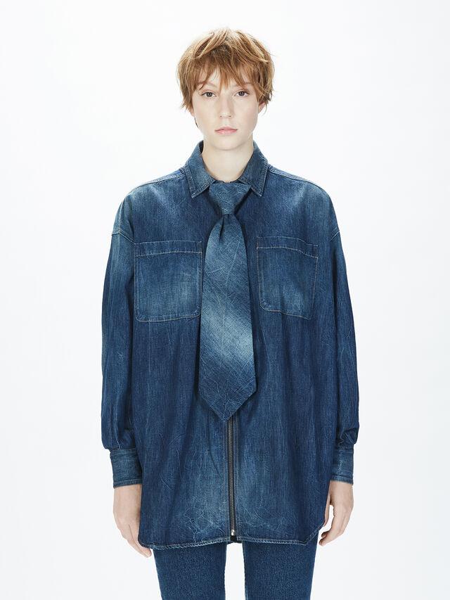 Diesel - SOTS01, Blue Jeans - Camisas - Image 4