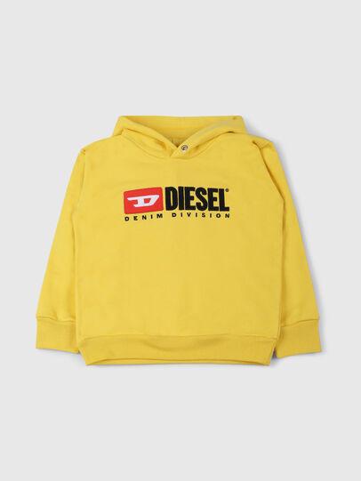 Diesel - SDIVISION OVER, Amarillo - Sudaderas - Image 1