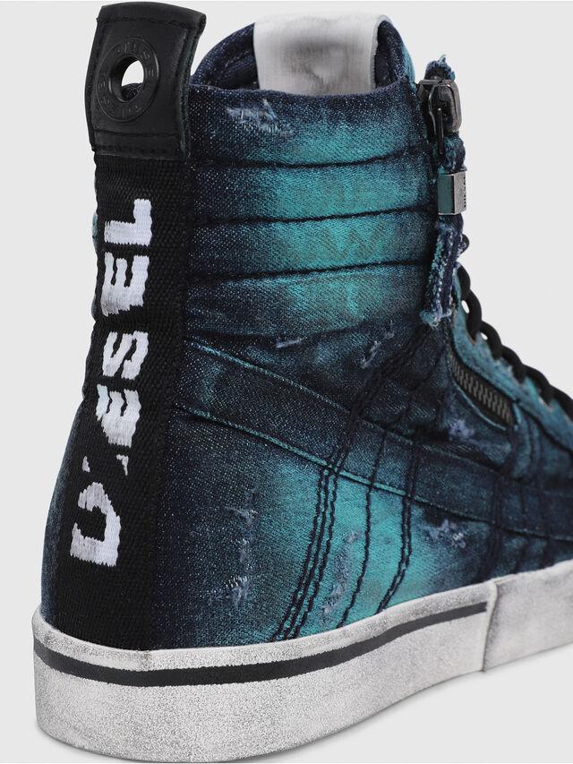 Diesel - D-VELOWS MID LACE, Azul Turquesa - Sneakers - Image 4