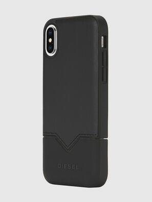 CREDIT CARD IPHONE X CASE, Negro - Fundas