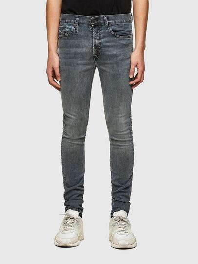 Diesel - D-Reeft JoggJeans® 069RD, Negro/Gris oscuro - Vaqueros - Image 1
