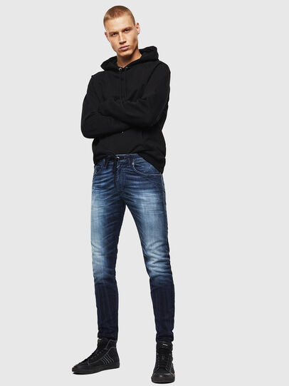 Diesel - Thommer JoggJeans 069IE, Azul Oscuro - Vaqueros - Image 6