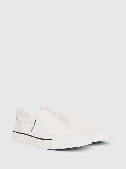 Diesel - S-FLIP SO, Blanco - Sneakers - Image 2