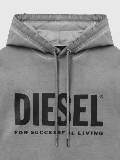 Diesel - S-GIR-HOOD-DIVISION-, Gris - Sudaderas - Image 3