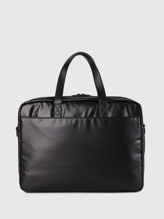 Diesel - F-DISCOVER BRIEFCASE, Negro - Maletines - Image 3