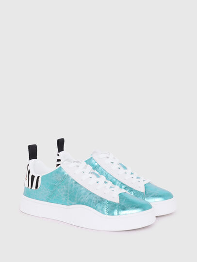 Diesel - S-CLEVER LOW LACE W, Celeste - Sneakers - Image 2