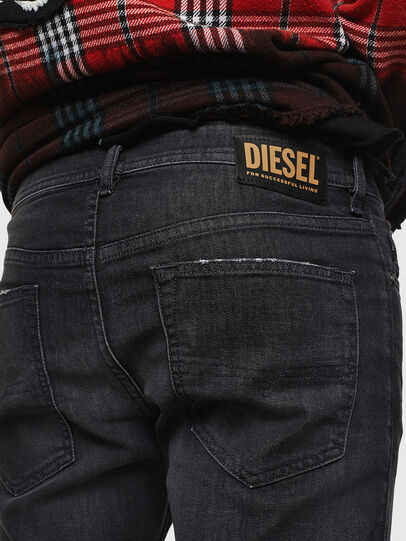 Diesel - Buster 082AS, Negro/Gris oscuro - Vaqueros - Image 4