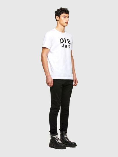 Diesel - T-DIEGOS-A1, Blanco - Camisetas - Image 4