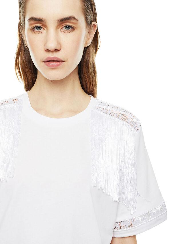 Diesel - TREENA, Blanco - Camisetas - Image 4