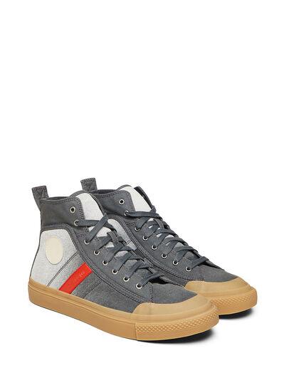 Diesel - GR02 SH32, Gris/Blanco - Sneakers - Image 1