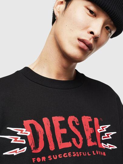 Diesel - CL-SNOR-LITMA, Negro - Sudaderas - Image 3