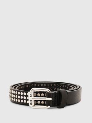B-STUDALL, Negro - Cinturones