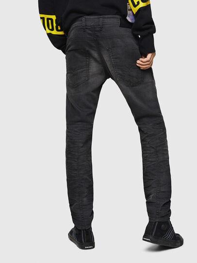 Diesel - Krooley JoggJeans 069GN, Negro/Gris oscuro - Vaqueros - Image 2